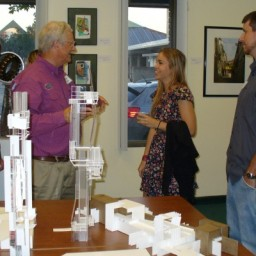 Local Architects and Students Light up the Night at October Artwalk