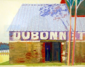 French Barn – Pastel