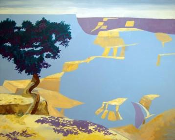 Blue Canyon – Acrylic