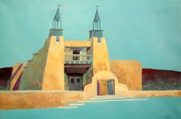 Truchas Church – Acrylic