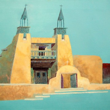 Truchas Church – Acrylic