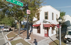 New home for AIA Gainesville and the FLCDC at 101 North Main Street in Gainesville. Image: Google.