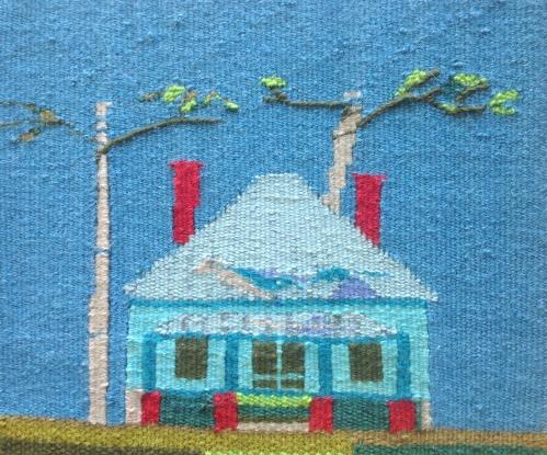 "Jan Haase, Tapestry, ""4 Square Georgian"""