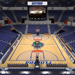 Tour of New Exactech Arena at Stephen C. O'Connell Center