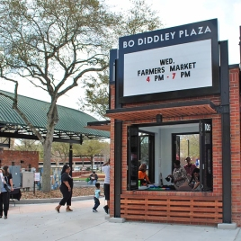 Bo Diddley Plaza